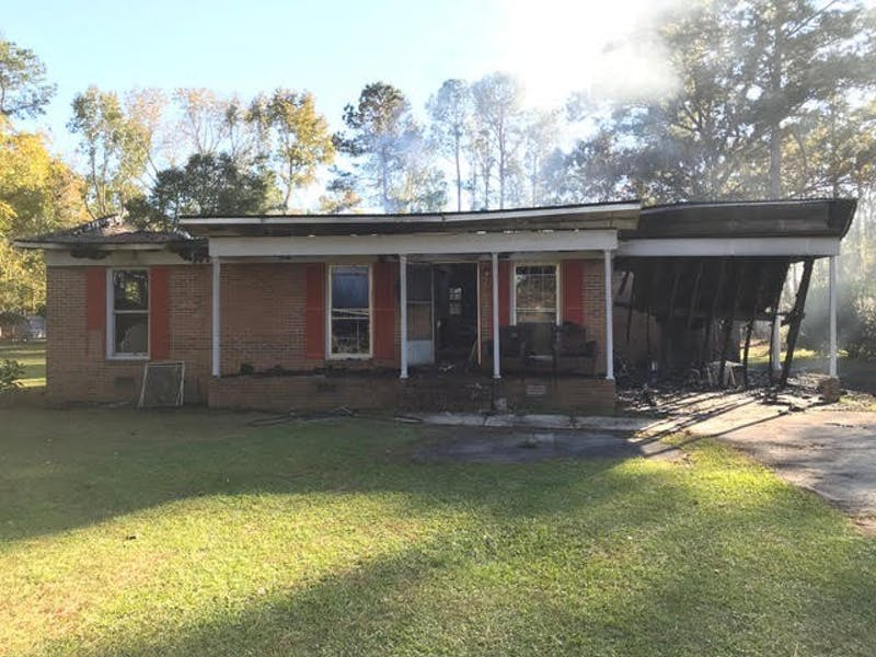 UNC sophomore Darius Johnson, created a crowdfunding campaign to raise money for the rebuilding of his home that was burned down in a fire. Photo courtesy of Darius Johnson