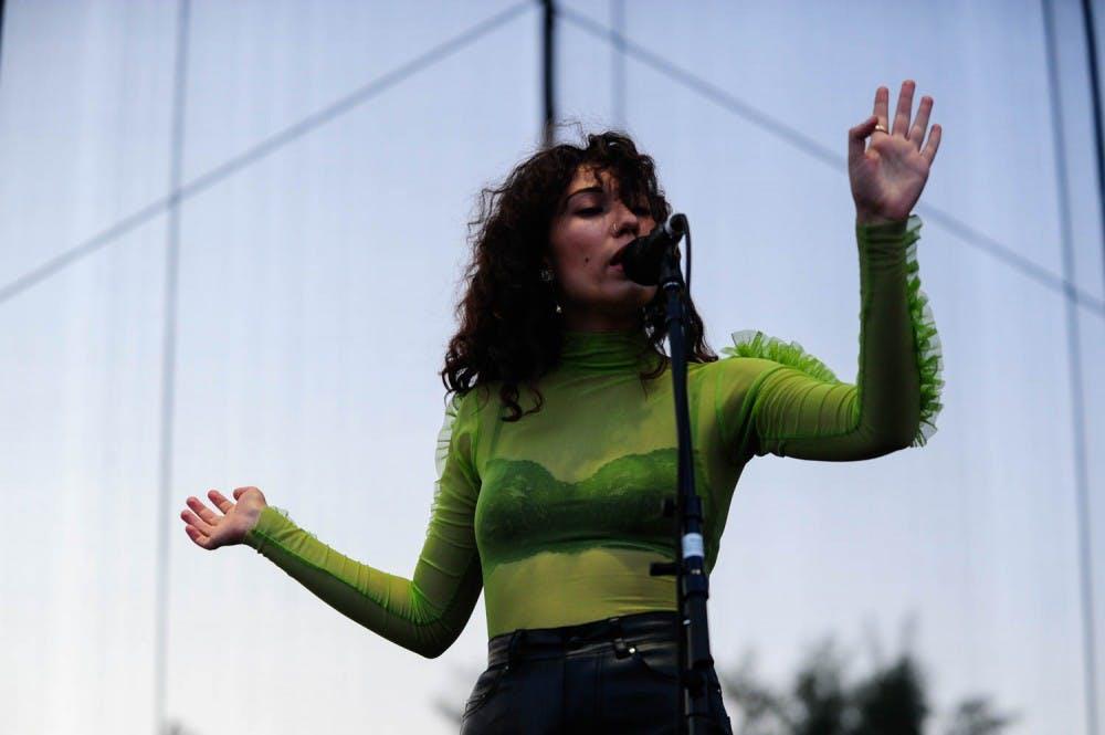City editor Rebecca Ayers jumps into Hopscotch Music Festival