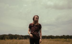 Julien Baker, a singer-songwriter, will perform at the Haw River Ballroom Friday. Photo courtesy of Nolan Knight.