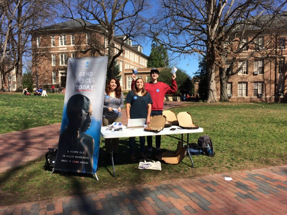 UNC International Justice Mission calls on students to help end modern slavery