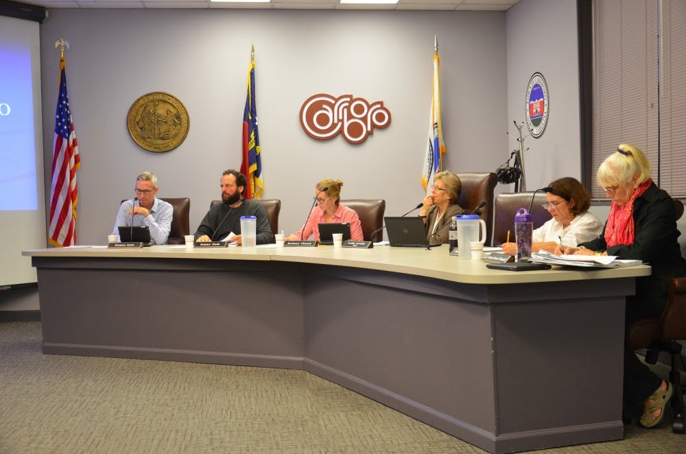 Carrboro Board of Aldermen discuss DACA, affordable housing and public assembly regulations