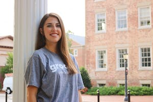 Student-made app Grooop helps promote safety on campus. Courtesy of Nina Barnett.