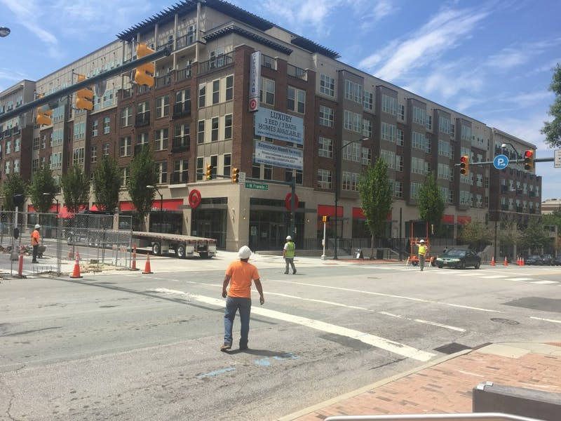 Carolina Square's Target opened July 18.