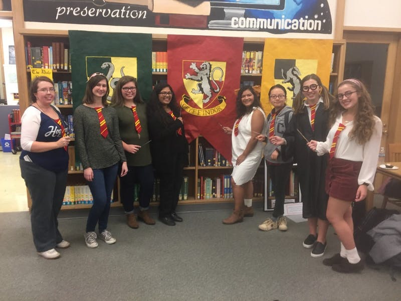 School of Information and Library Sciences hosted a Harry Potter Night Friday.