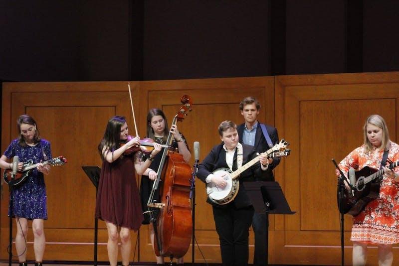 The Carolina Bluegrass Band will perform their fall concert. Photo courtesy of Liz Short.