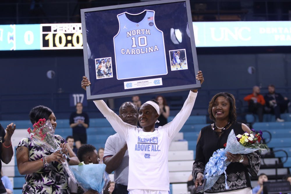 'Bittersweet': Cherry's heroics not enough for UNC women's basketball on Senior Day