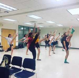 """Company Carolina's production of """"The Wild Party"""" will be performed at The ArtsCenter Oct. 27-29. Photo courtesy of Bradley Barefoot."""