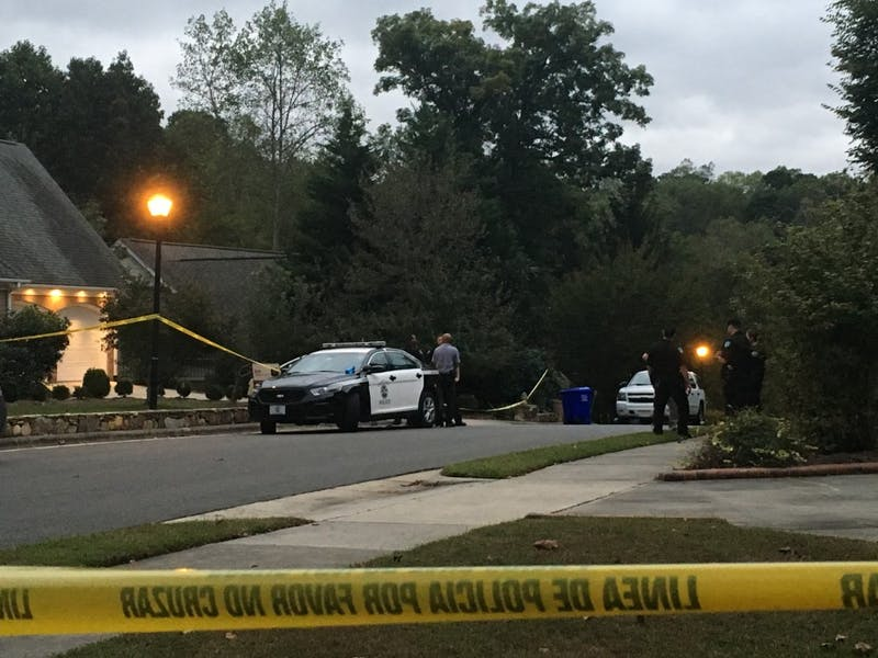 Chapel Hill Police officers are on the scene of a death at Deming Rd.