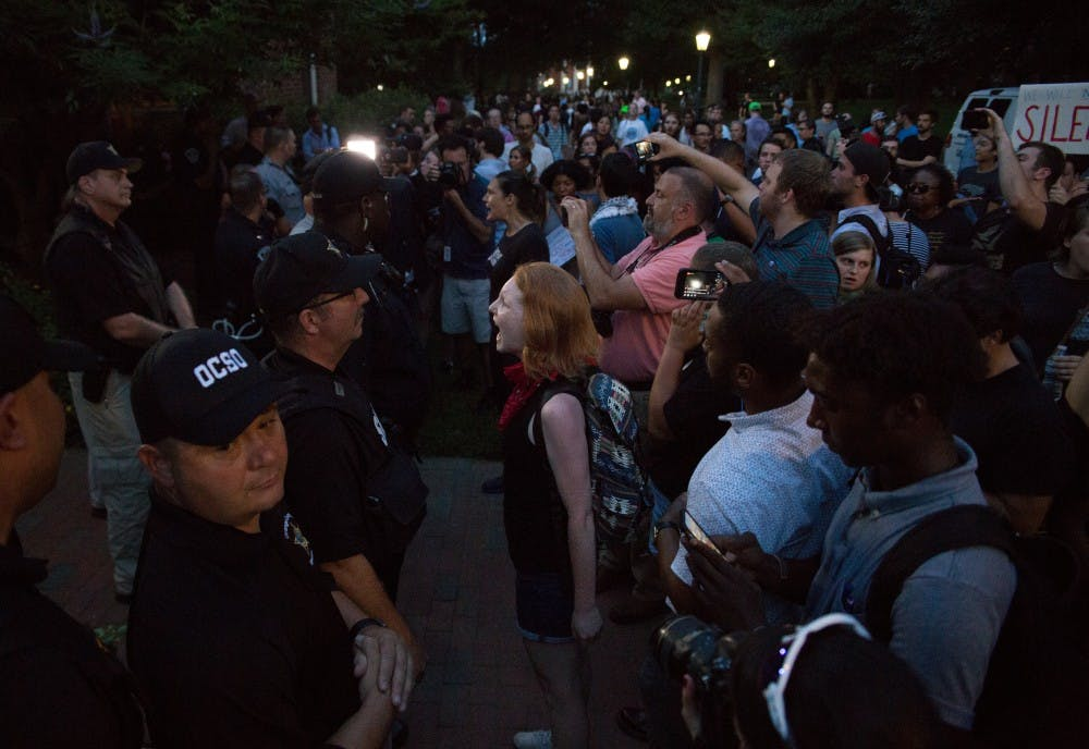 Loud cries denounce Silent Sam