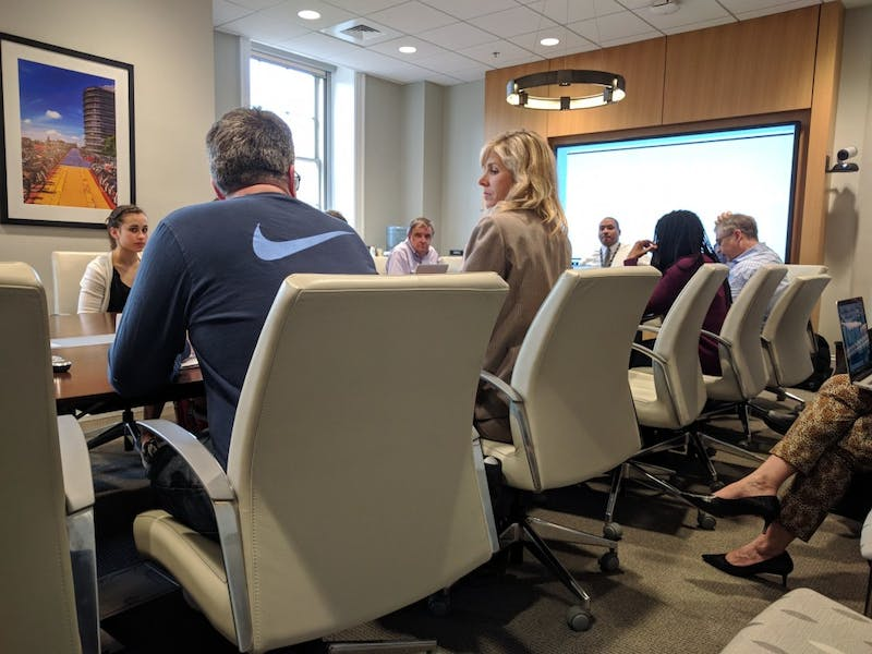 The Faculty Athletics Committee met on Tuesday.