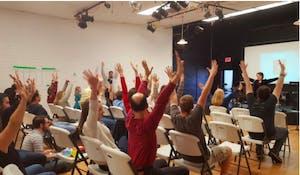 Photo courtesy of Sunday Assembly of Chapel Hill.