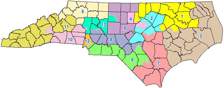 Federal courts rule NC maps unconstitutionally gerrymandered