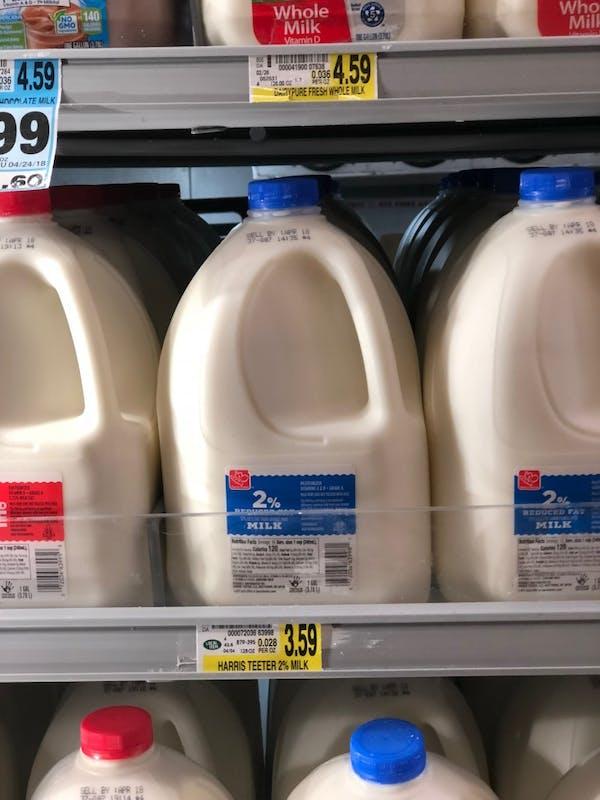 File of milk.