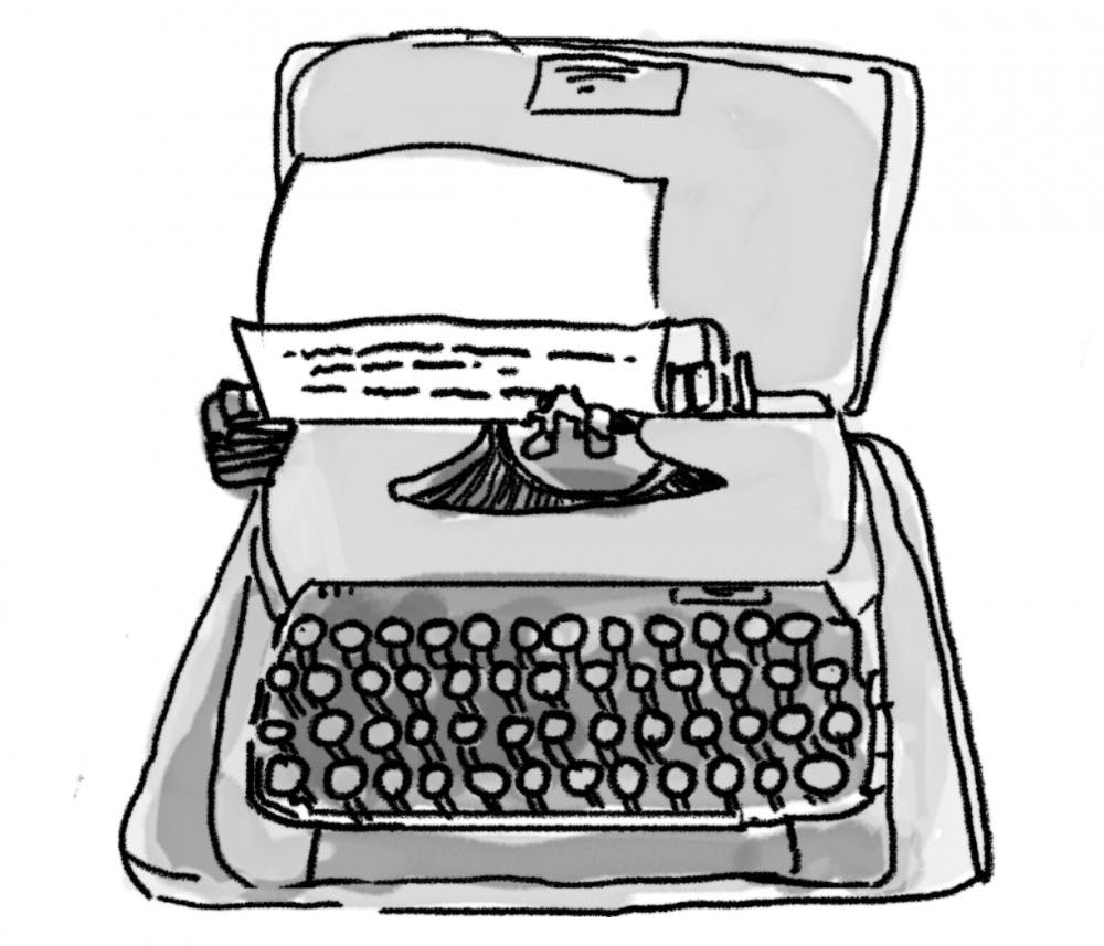 Column: A typewriter made me love writing again
