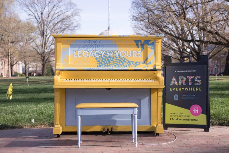 "Arts Everywhere, a UNC initiative that has brought art into everyday spaces, is hosting ""Arts Everywhere Day"" on April 6."