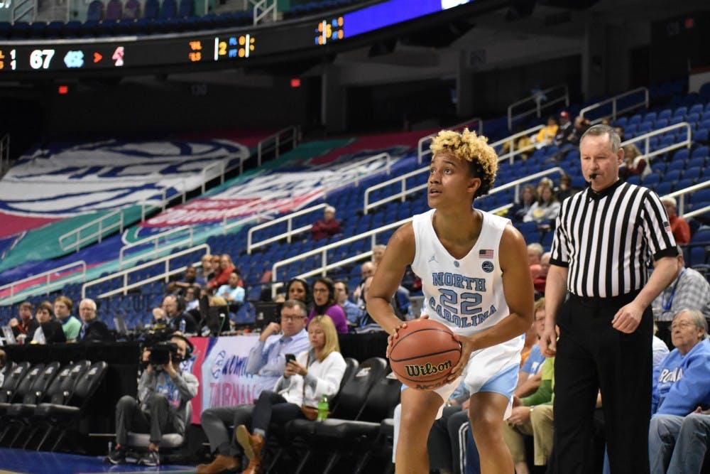 Paris Kea lifts UNC women's basketball past Boston College in return to Greensboro