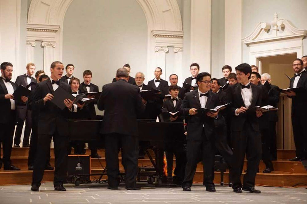 UNC glee clubs host scholarship benefit concert
