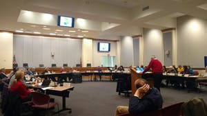 The Orange County Assembly of Governments met Tuesday night.