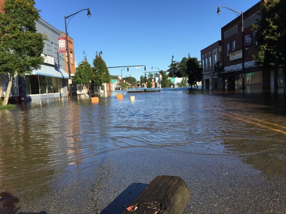 One year later: Windsor remains resilient despite lasting flood damage from Hurricane Matthew