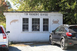 Tom Robinson's Seafood restaurant is located in Carrboro.