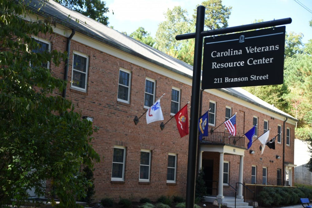 The Carolina Veterans Center is a space for student veterans to gather