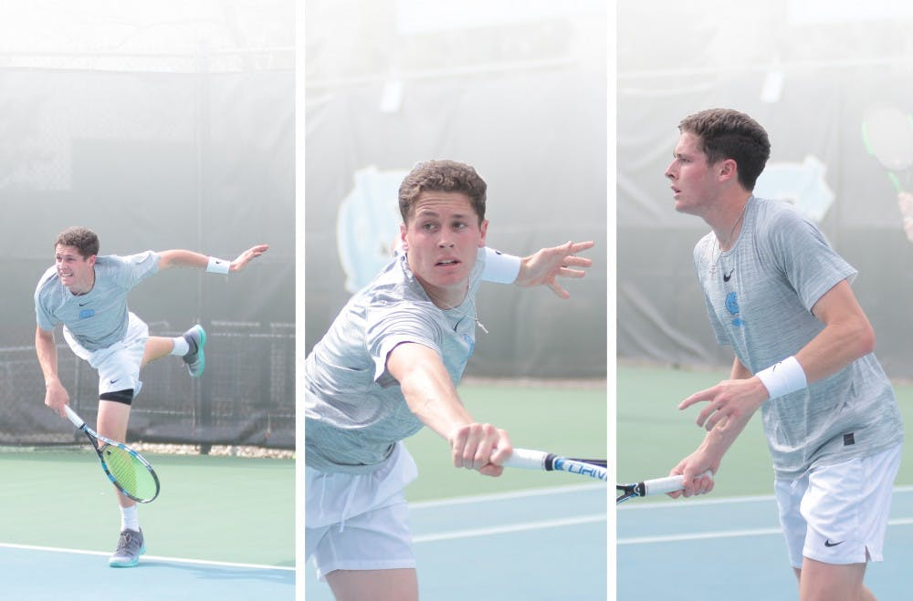 Junior Blaine Boyden takes on tennis and life with a full heart