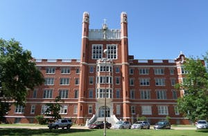 Benedictine Hall, at St. Gregory's University. Photo from Wikimedia Commons.