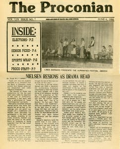 Chapel Hill High School's newspaper, Proconian, has been in print since 1931. Photo courtesy of Proconian.
