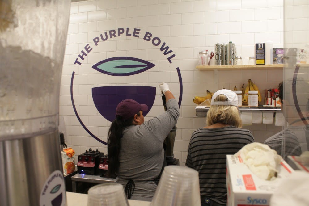 Review: Purple Bowl brings something new to Franklin Street eateries
