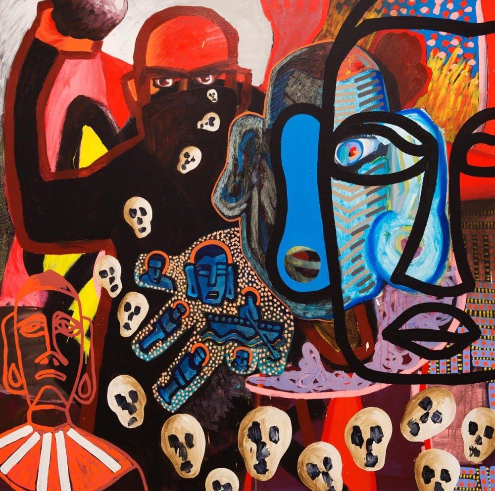 Renzo Ortega's art brings influences from Peru to Chapel Hill