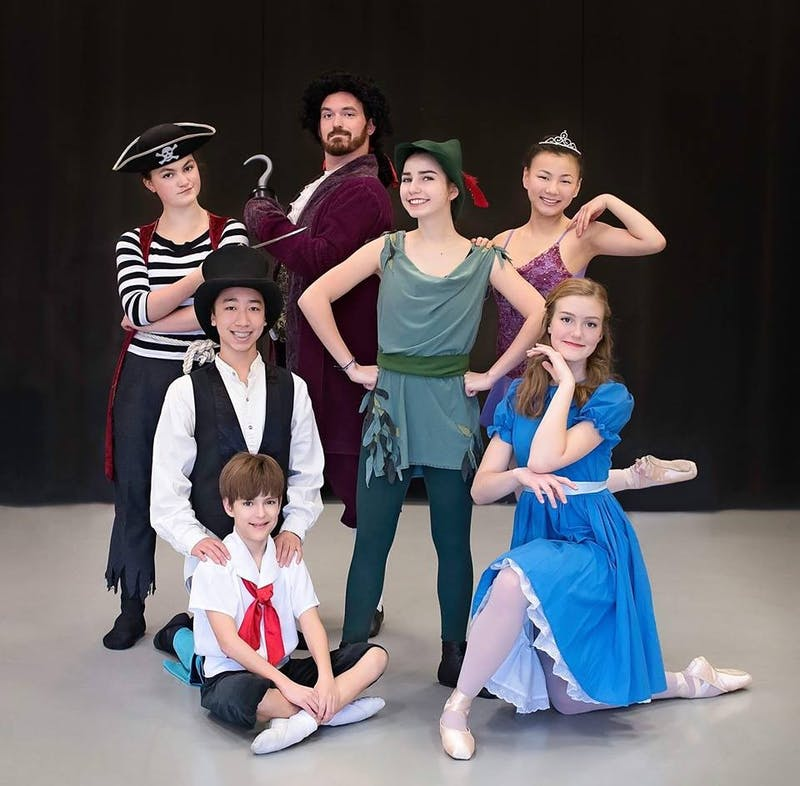 "Chapel Hill Dance Theater is performing ""Peter Pan"" at Chapel Hill High School. Photo courtesy of Chapel Hill Dance Theater."