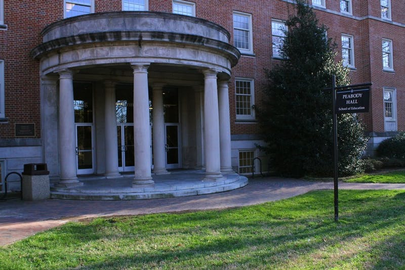 Peabody Hall houses UNC's School of Education.