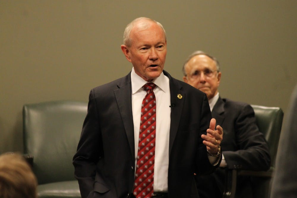 Gen. Martin Dempsey says Americans must gain new perspective in talk at UNC
