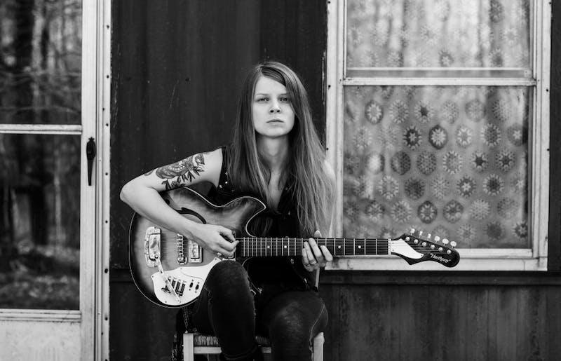 Sarah Shook is the lead singer of Sarah Shook & the Disarmers. Photo by Jillian Clark.