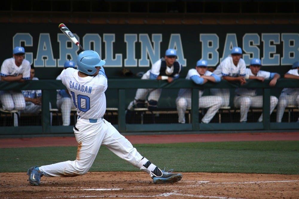 Austin Bergner's arm leads UNC baseball on Saturday, team completes sweep on Sunday