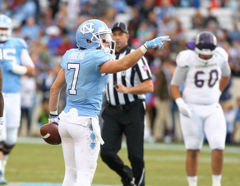 North Carolina football blows out Western Carolina, 65-10, in final home game of 2017