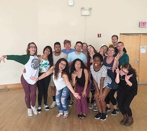 Last year's Student Theater Festival Workshop featured a Latin dance class led by Qué Rico. Photo courtesy of Collin Williams.
