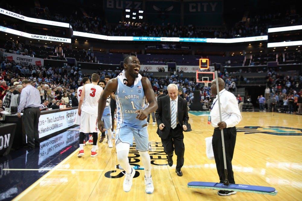 Pinson, Robinson's impacts transcend statlines in UNC basketball win over Davidson