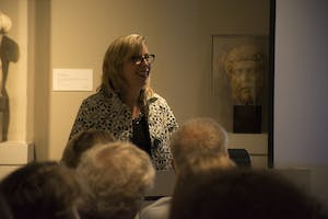 Melissa Hyde, co-curator of the exhibition from the University of Florida, was a longtime friend of Mary D. Sheriff.