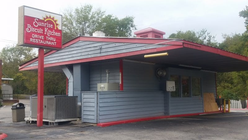 Sunrise Biscuit Kitchen is a town favorite located on E. Franklin St.