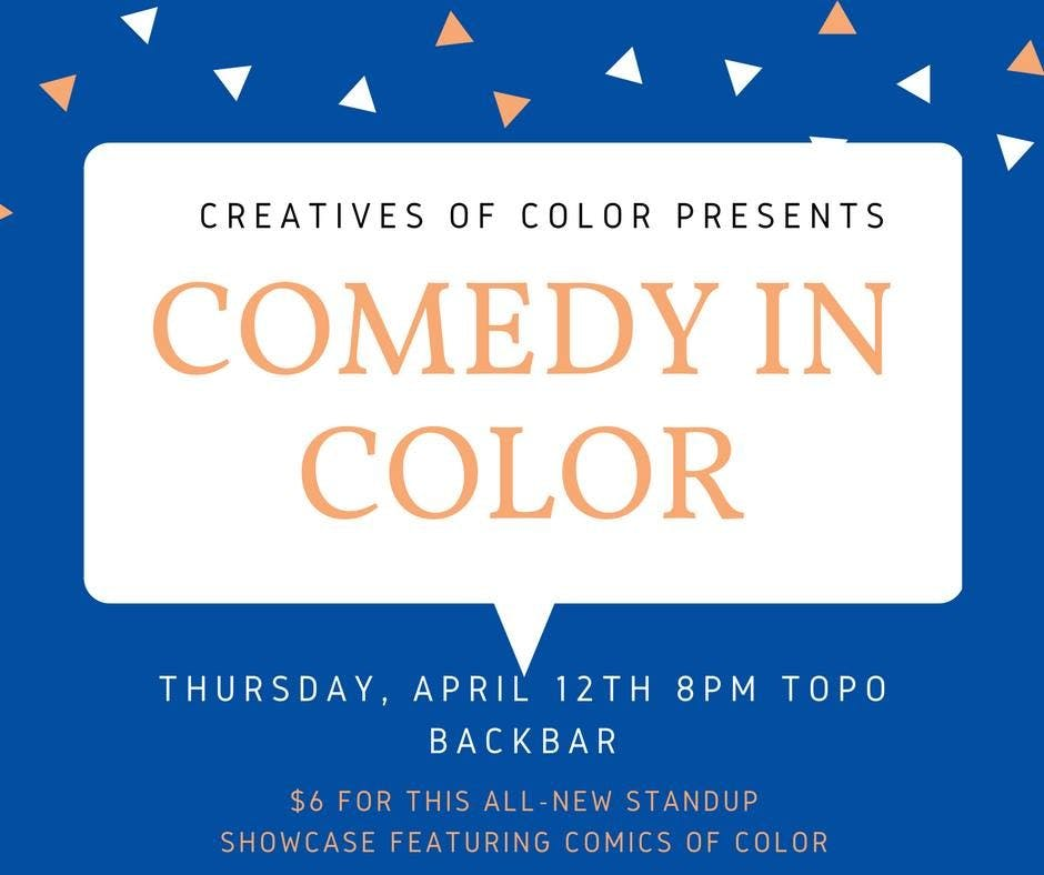 Comedy in Color is making the UNC comedy scene vibrantly accessible