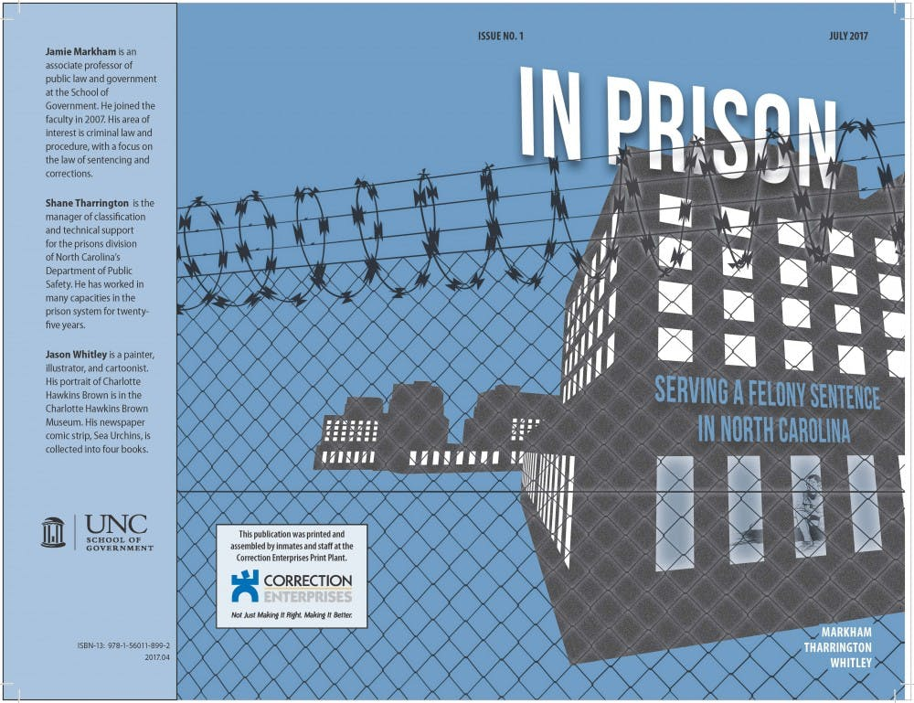 UNC professors create graphic book to help simplify the prison system
