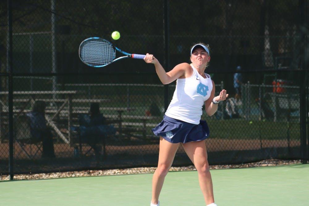 UNC women's tennis downs Wake Forest, advances to ACC semifinals