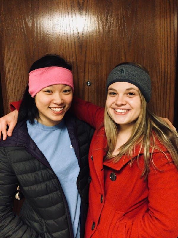 Alicia Chen and Olivia Proops