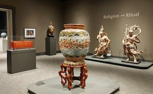 """The Ackland Art Museum's exhibit """"Religion and Ritual"""" will be on display until May 13. Photo courtesy of Emily Bowles."""