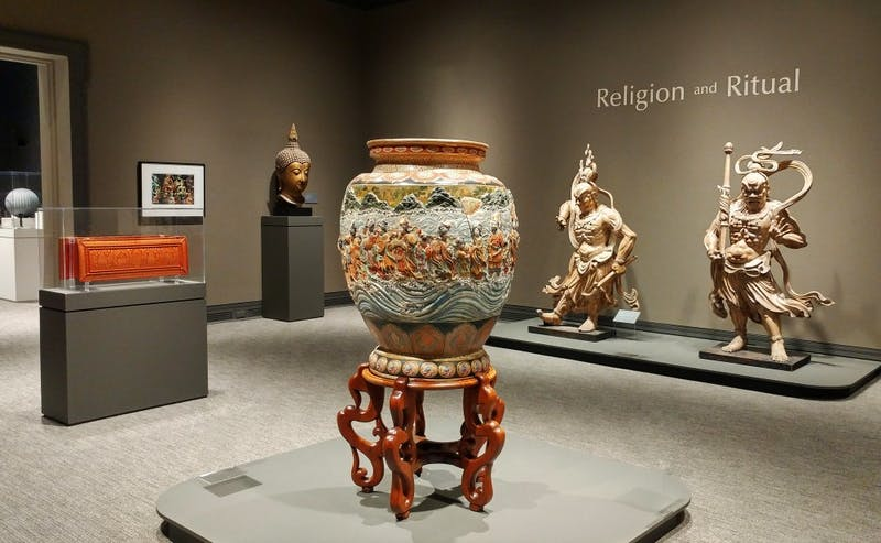 "The Ackland Art Museum's exhibit ""Religion and Ritual"" will be on display until May 13. Photo courtesy of Emily Bowles."