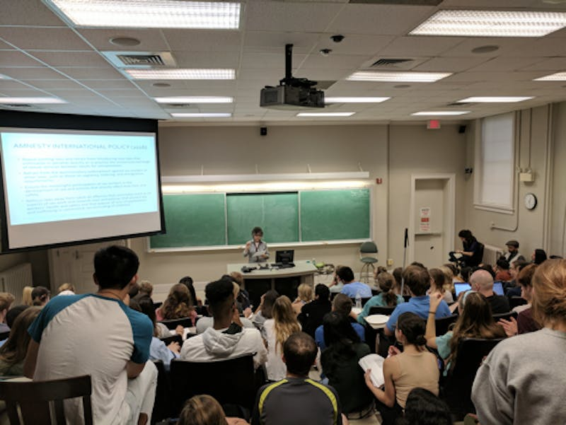 "The UNC Politics, Philosophy and Economics society are discussing the ethics of affluence through a screening of ""The Queen of Versailles."" Photo courtesy of Yiran Hua."