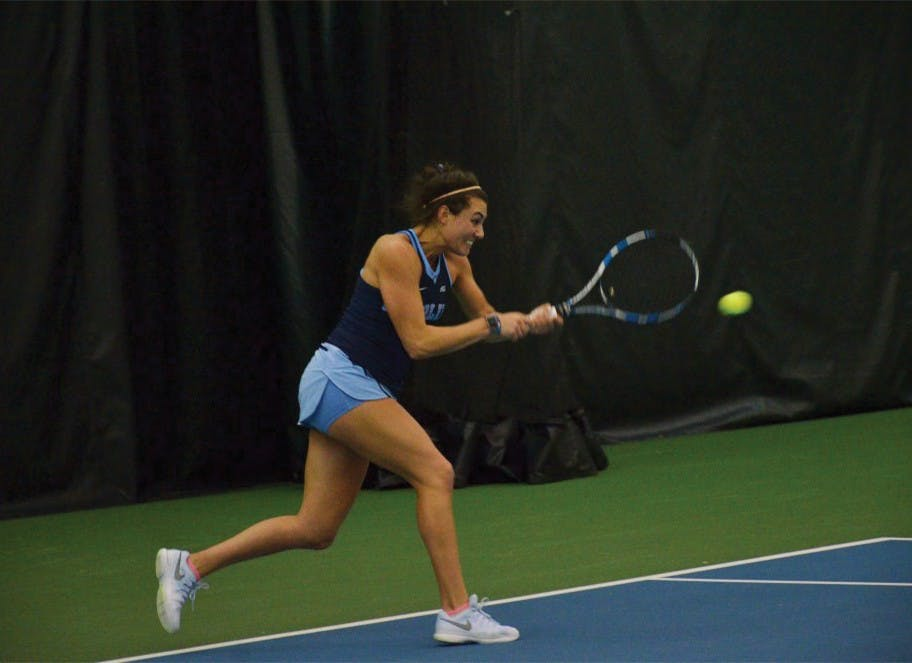 UNC women's tennis shows signs of reshaped identity punches ticket to ITA National Indoors
