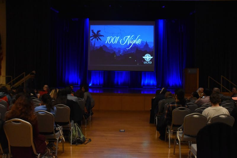 UNC Persian Cultural Society hosted their annual 1001 Nights event in the Great Hall on Nov. 9.