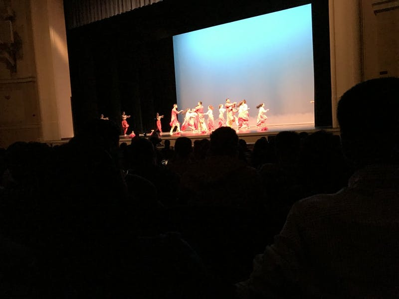 UNC hosted Aaj Ka Dhamaka, an intercollegiate dance competition, Saturday.